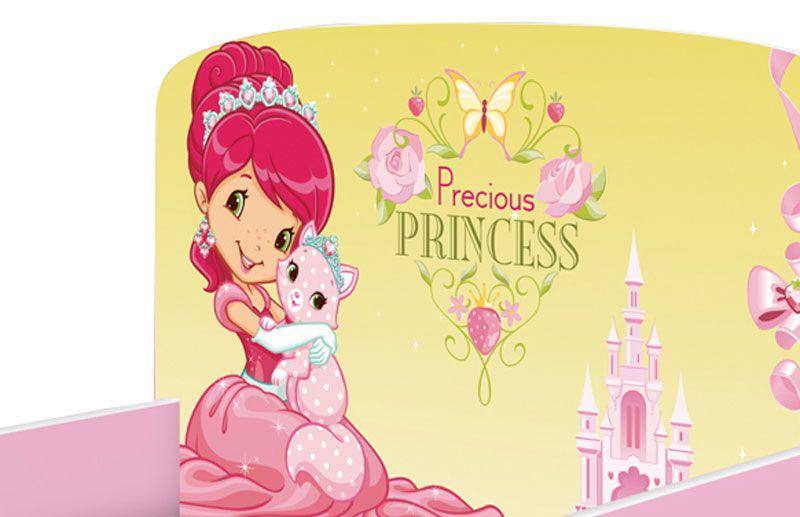 Cama Infantil Nicole Rosa Princesas - JeA Móveis