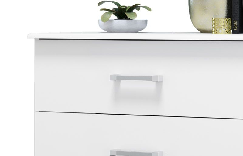 Comoda Atenas Branco - EJ Móveis