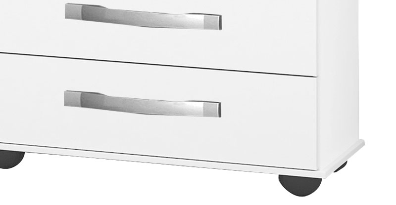 Comoda Barcelona Branco - Móveis Primus
