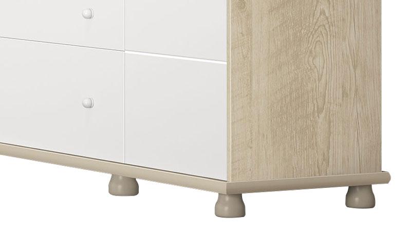 Comoda Diogo Branco com Niagara - Imaza Moveis  - MoveisAqui - Loja de móveis online!