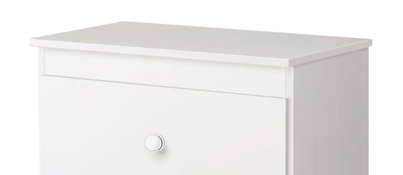 Comoda Encanto Branco Brilho - Imaza Móveis