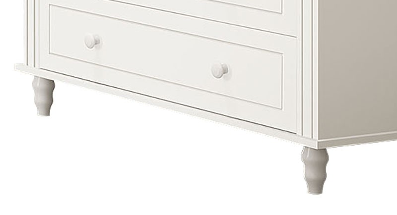 Comoda Laura Branco Fosco - Imaza Móveis