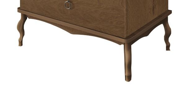 Comoda Luís XV Naturale - Edn Móveis  - MoveisAqui - Loja de móveis online!