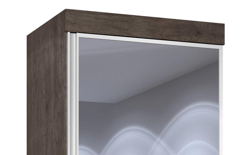 Cômoda Multiuso Thor New com Espelho Itaúba - JeA Móveis