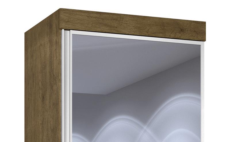 Cômoda Multiuso Thor New com Espelho Jequitibá - JeA Móveis