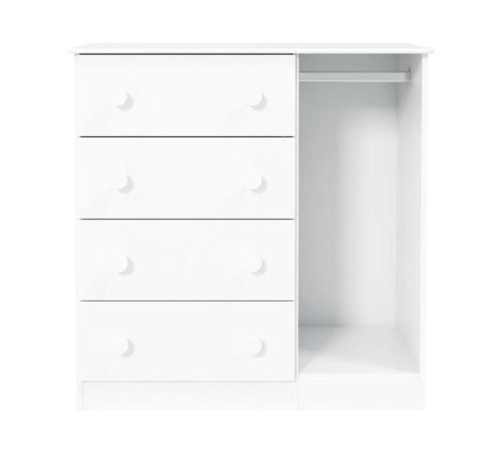 Comoda Ninare Branco Brilho - Matic Móveis