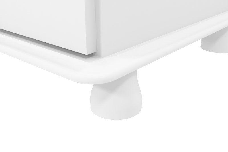 Comoda Realeza Branco - Patrimar Móveis