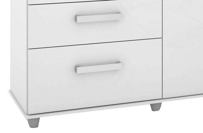Comoda Savana Plus Branco - Mirarack  - MoveisAqui - Loja de móveis online!