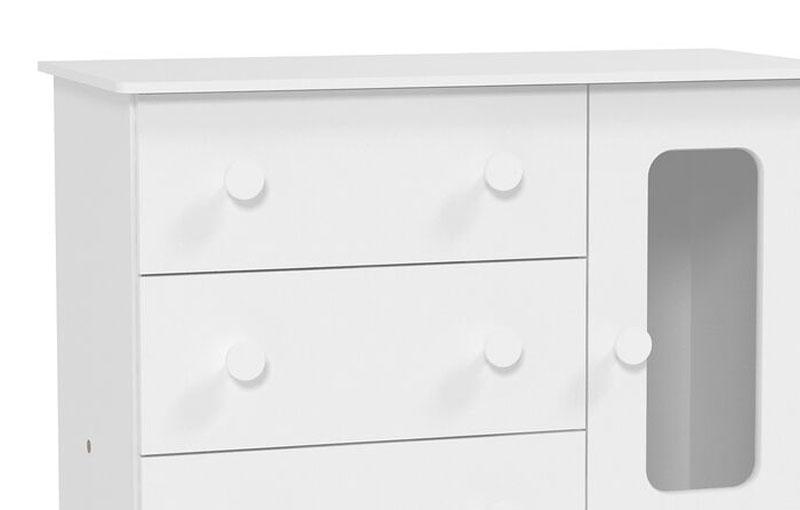 Comoda Smart Branco Fosco - Matic Móveis