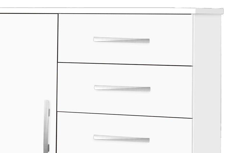 Cômoda Titan Branco - Móveis Primus