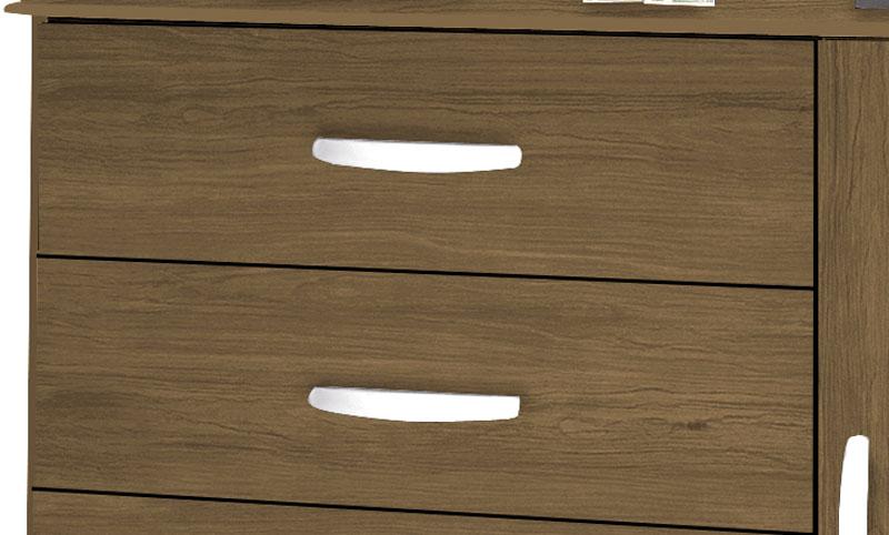 Comoda Veneza Amendoa - Moveis Primus