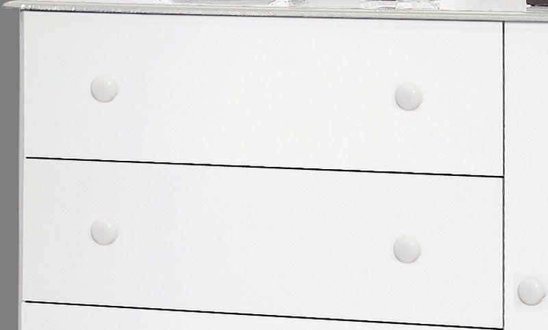 Cômoda Veneza Branco - Móveis Primus