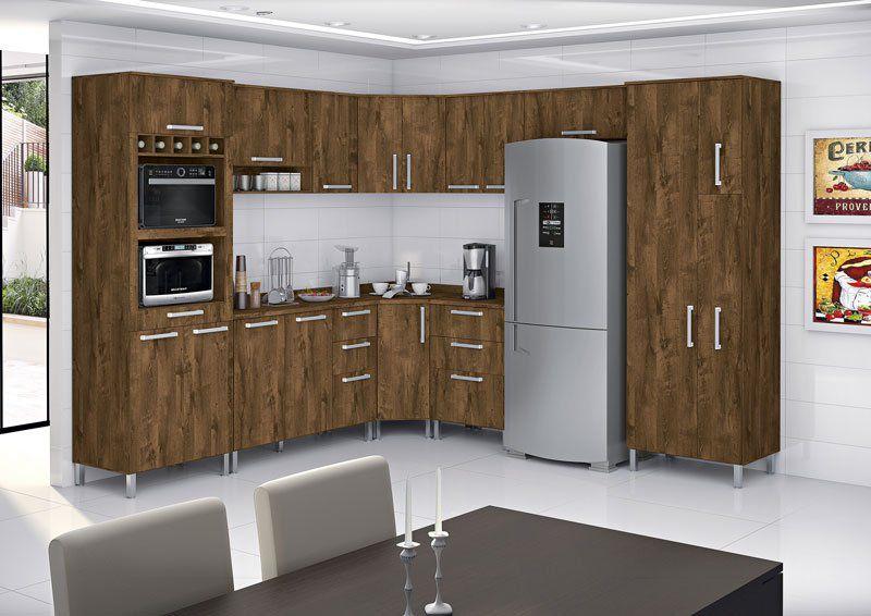 Cozinha Completa Ravena 2.62 Malbec - Vitamov