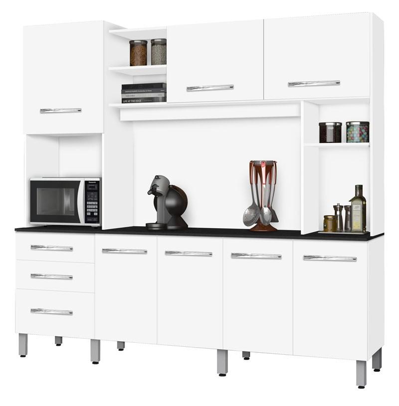 Armário de Cozinha Holanda 2.2 Branco - CSA Móveis