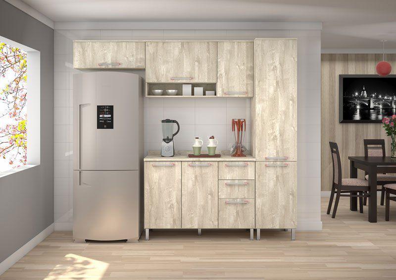 Armário de Cozinha Ravena 2.4 Ártico - Vitamov