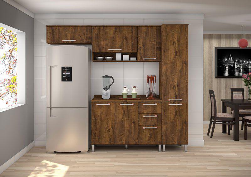 Armário de Cozinha Ravena 2.4 Malbec - Vitamov