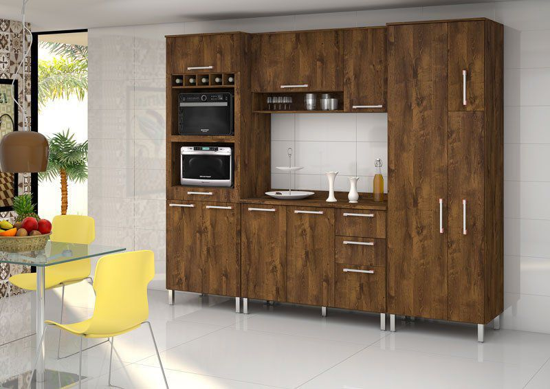 Armário de Cozinha Ravena 2.6 Malbec - Vitamov