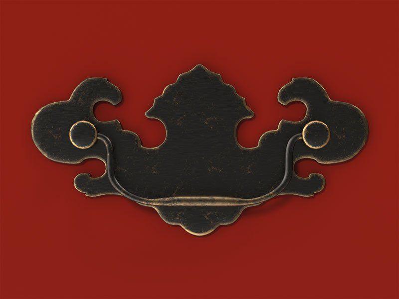 Criado Mudo Bombe Premier Vermelho - Patrimar Móveis