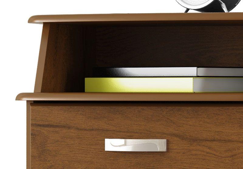 Criado Mudo Luxo Malbec - EJ Móveis  - MoveisAqui - Loja de móveis online!