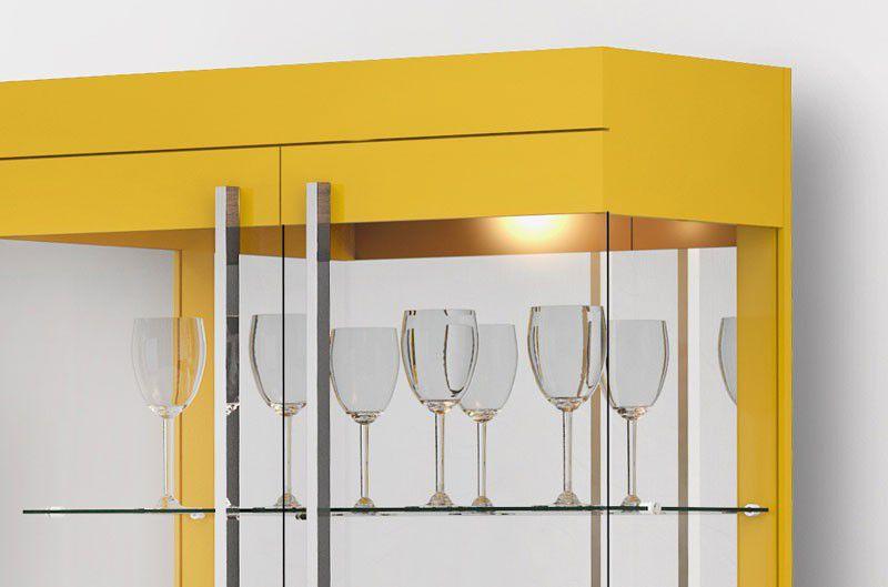 Cristaleira Channel Amarelo - Imcal