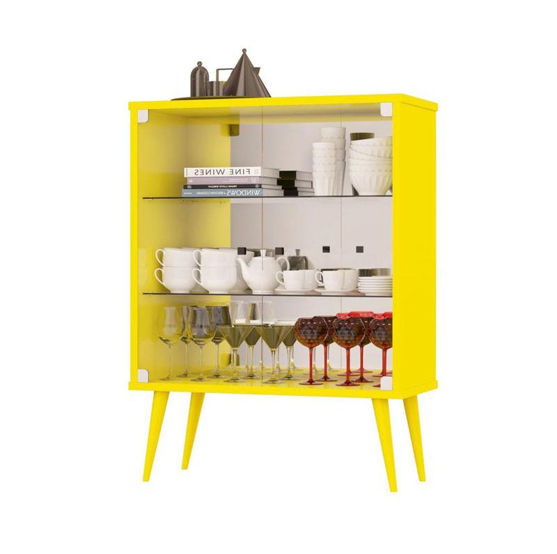 Cristaleira JB 4001 Amarelo - JB Bechara