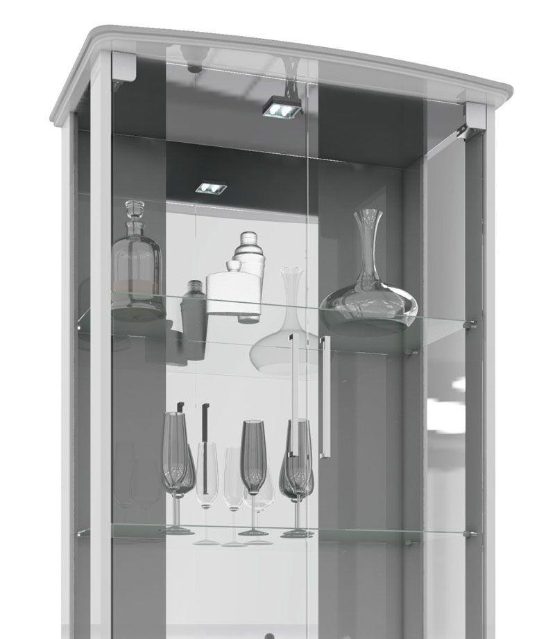 Cristaleira JB 4070 Branco - JB Bechara