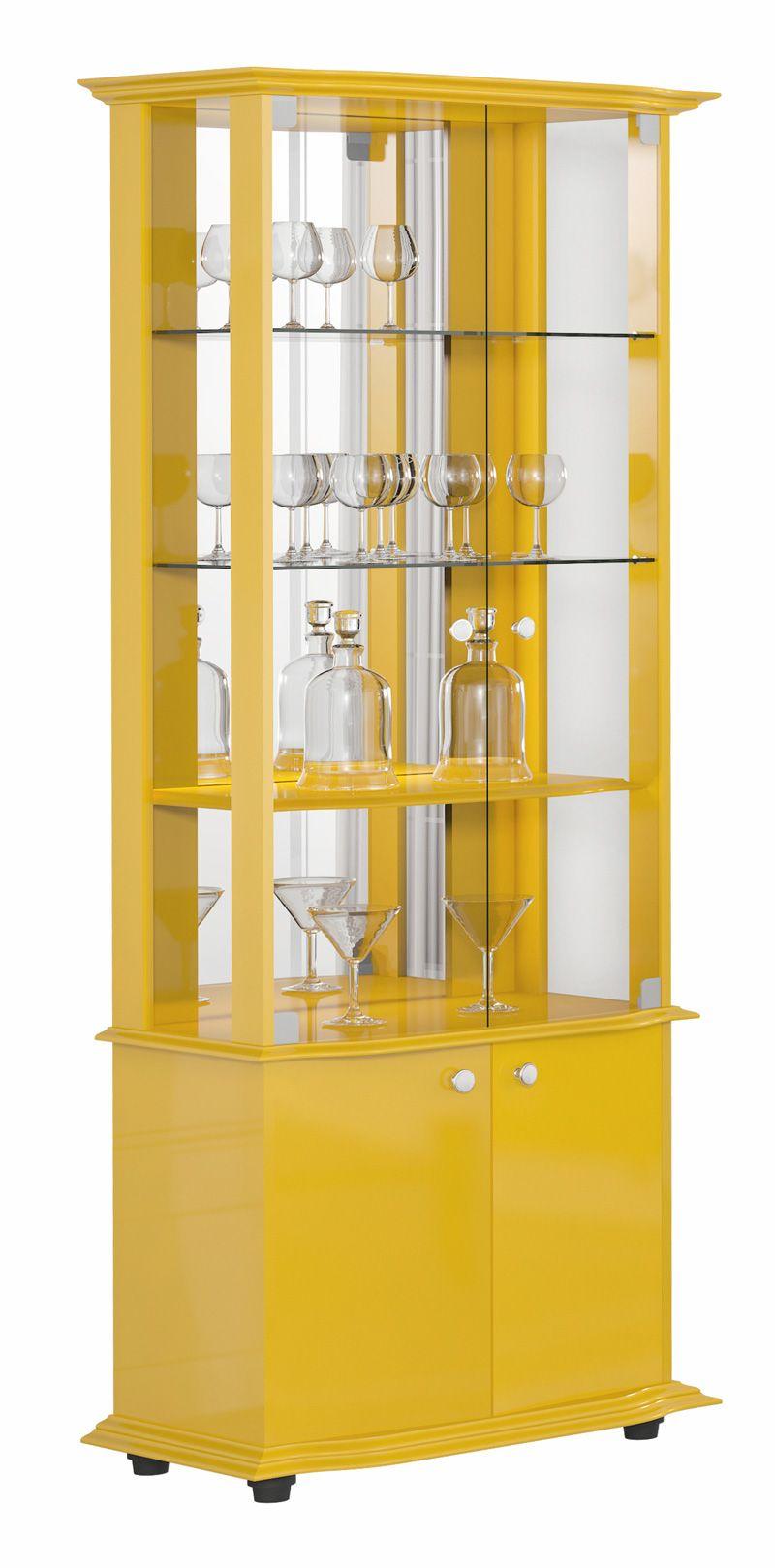 Cristaleira Monalisa Imcal Amarelo