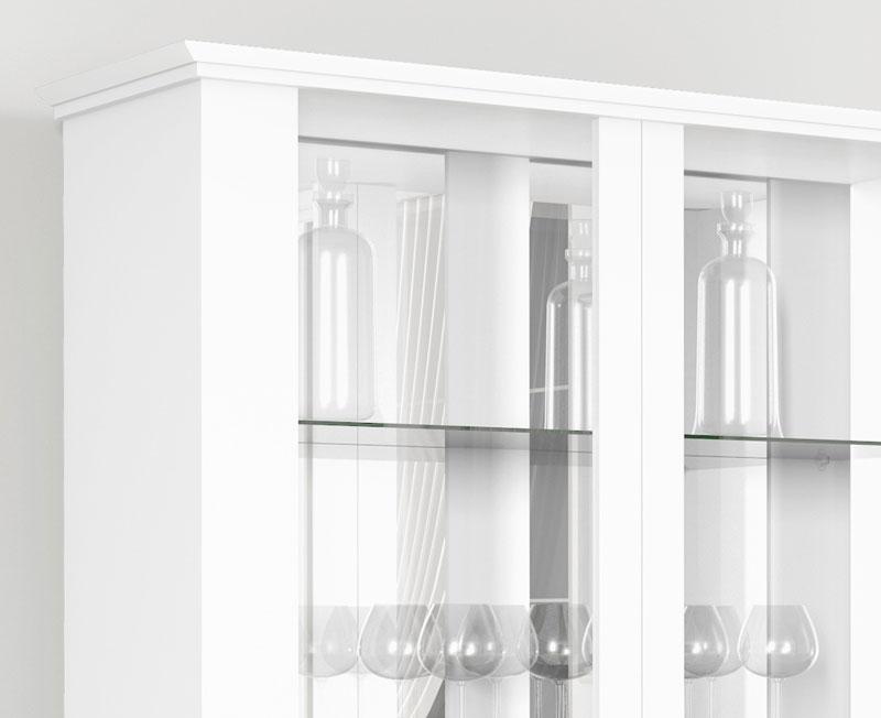 Cristaleira Ornare Branco - Imcal