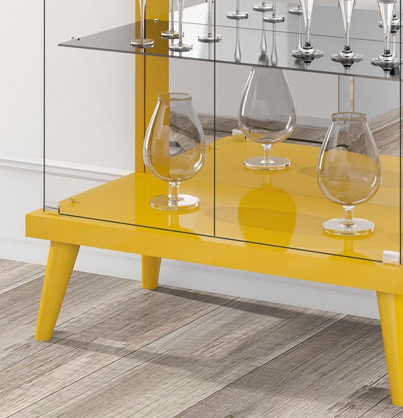 Cristaleira Tifanny Amarelo - Imcal