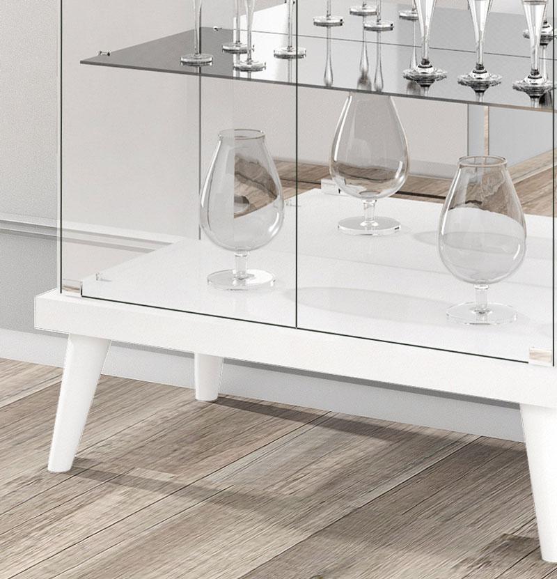 Cristaleira Tifanny Branco - Imcal