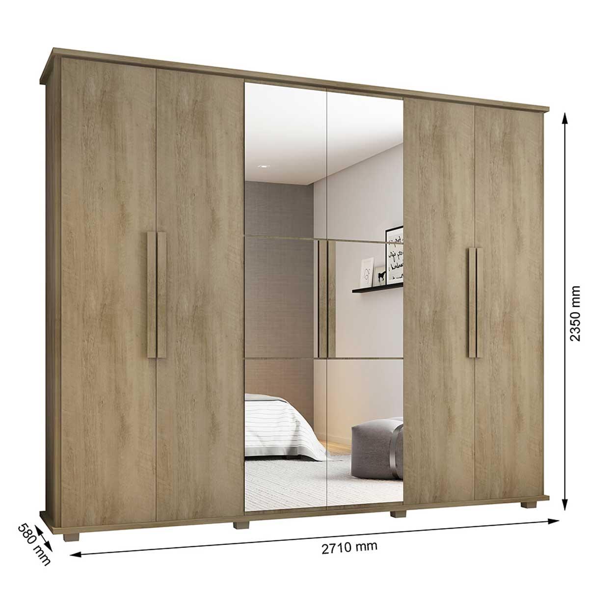 Dormitório Casal Canadá + Requinte Niágara - RV Móveis