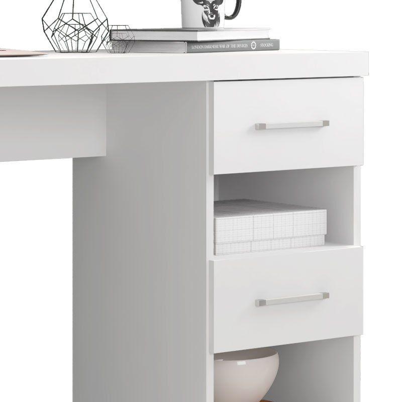 Escrivaninha Duna New Branco - Germai Móveis