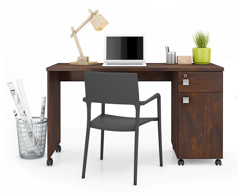 Escrivaninha Malta Noce - Lukaliam Móveis