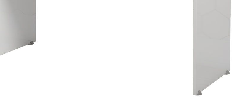Escrivaninha Máster Branco - EJ Móveis