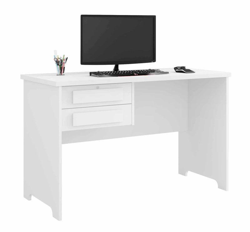 Escrivaninha Mesa para Computador Alemanha Branco - RV Moveis