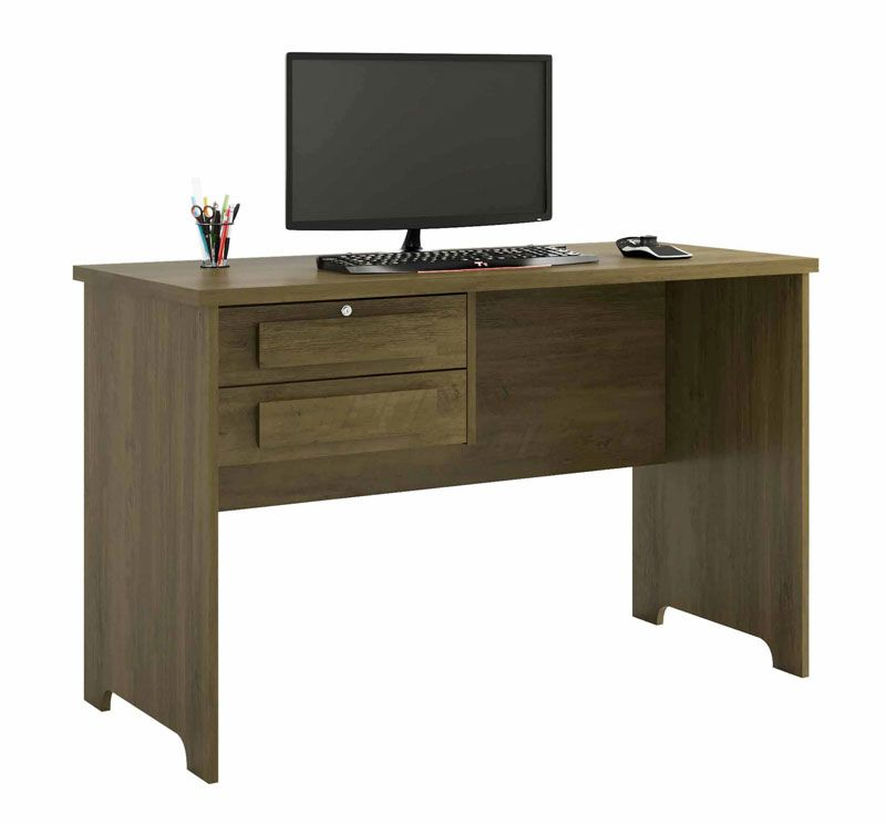 Escrivaninha Mesa para Computador Alemanha Imbuia - RV Móveis