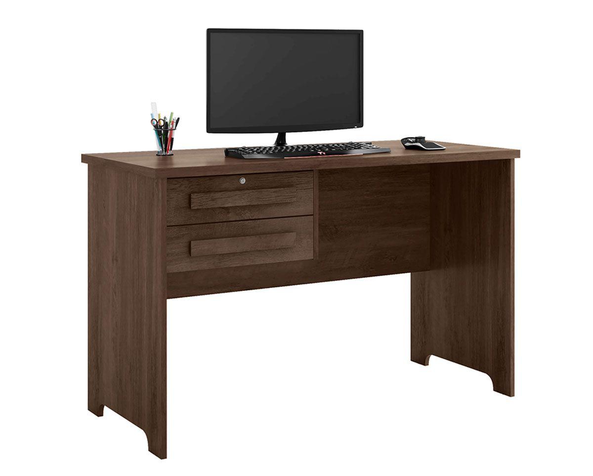 Escrivaninha Mesa para Computador Alemanha Noce - RV Móveis