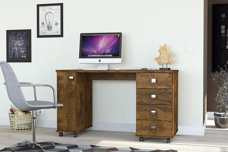 Escrivaninha Smart Canela - Lukaliam Móveis