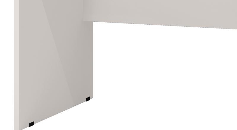 Escrivaninha Taurus Off White - JeA Móveis