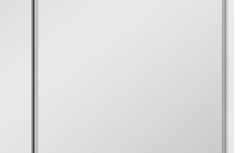 Guarda-Roupa 2 Portas de Correr com Espelho Cadenza Branco - Fênix