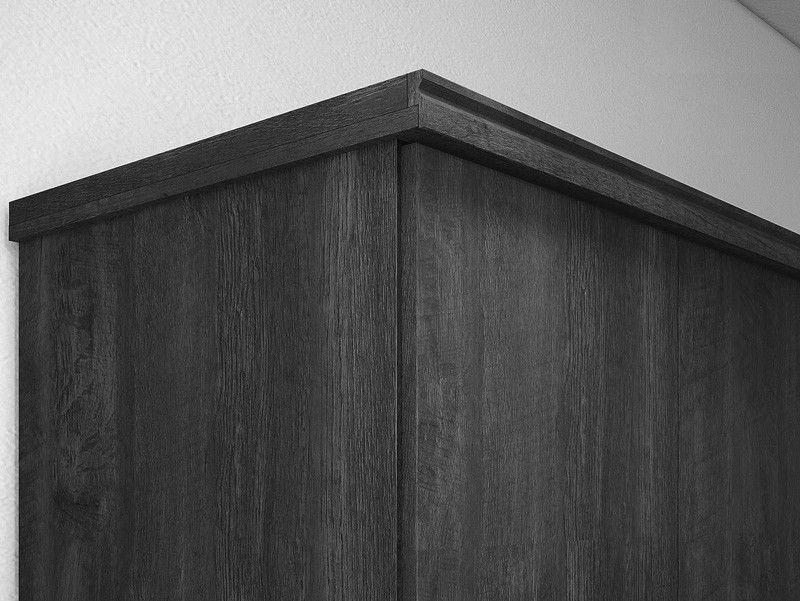 Guarda-Roupa 4 Portas Ágata com espelho Imbuia - FabriMóveis