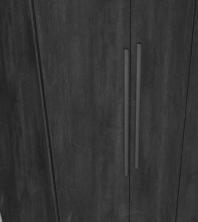 Guarda Roupa 6 Portas Ágata Noce - Fabrimóveis