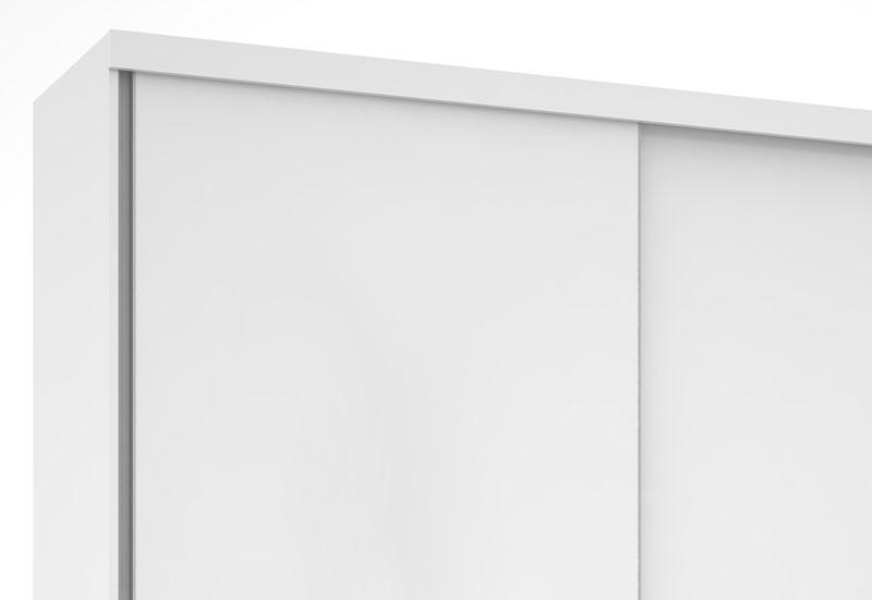 Guarda Roupa Blumenau Plus III Branco - Mirarack