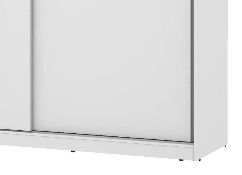 Guarda-Roupa Caribe com Espelho Branco - Mirarack