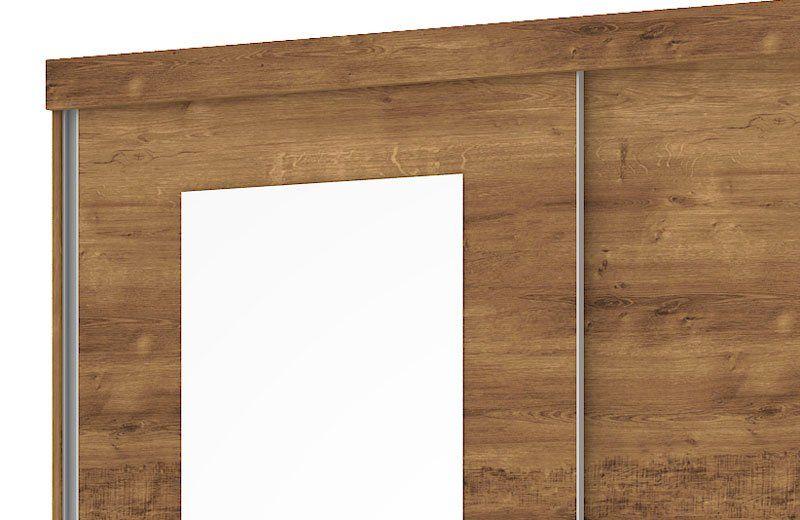 Guarda-Roupa Caribe com Espelho Canela - Mirarack
