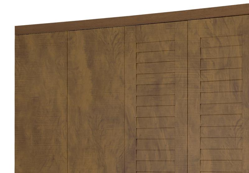 Guarda-Roupa Casal 6 Portas Columbia Mel II - Tebarrot Móveis