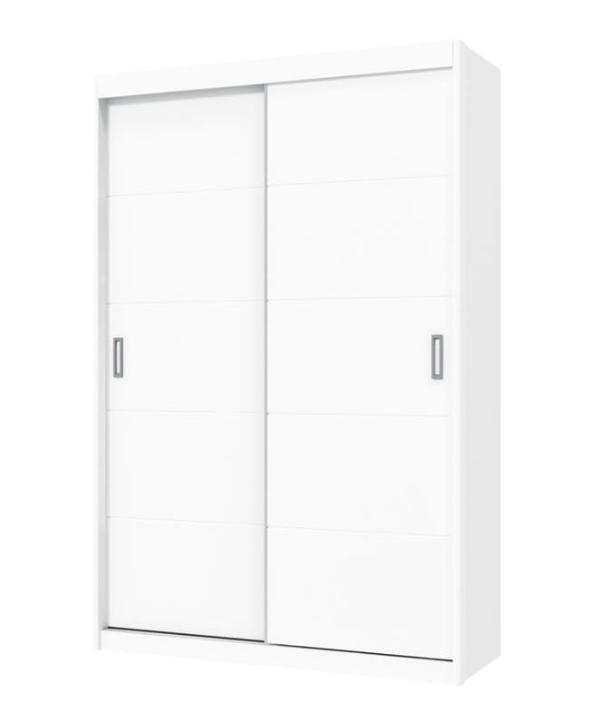 Guarda-Roupa Fratelli New 2 Portas de Correr Branco Fosco - Matic Móveis