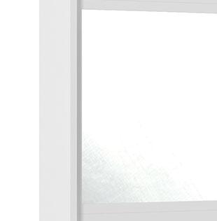 Guarda-Roupa Holanda II 2 Portas Espelho Branco - Rv Moveis