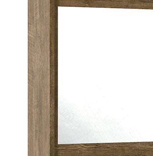 Guarda-Roupa Holanda II 2 Portas Espelho Imbuia - RV Móveis