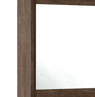Guarda-Roupa Holanda II 2 Portas Espelho Noce - Rv Moveis